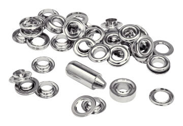 GROMMETS 21X10MMBLIST.25PCS+2MET.TOOLS
