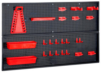 PEGBOARD KIT RED PERFORCZEPG001