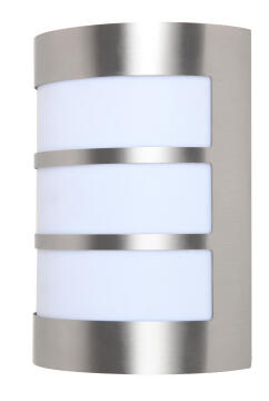 WALL LAMP E27 MAX 40W STAINLESS STEEL