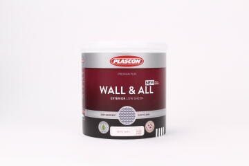 PLASCON WALL & ALL WHITE 1L
