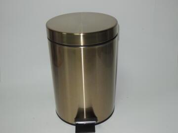 Dustbin gold 3l