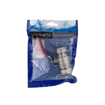 Ball lever valve c x c 22mm