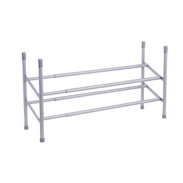 Shoe rack extendable/stackable