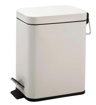 Dustbin SENSEA slim Stainless Steel white 5L