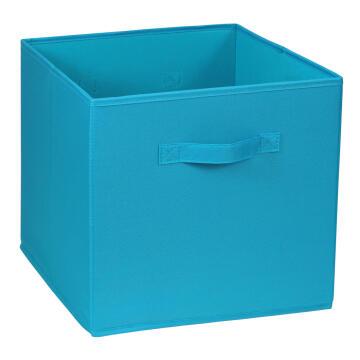 POLYESTER BASKET 31X31X31 BLUE