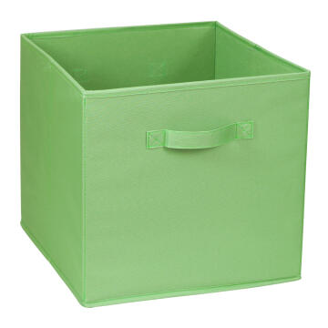 POLYESTER BASKET 31X31X31 GREEN