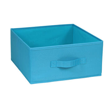 POLYESTER BASKET 31X31X15 BLUE