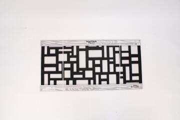 WALL ART COBBLESTONE 1160X580 CHARC