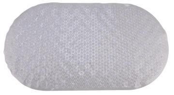 Bath mat antslip pvc SENSEA transparent 39x69cm