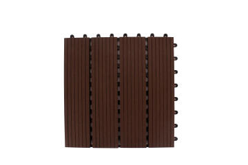 Deck Tile Chocolate Brown 300Mmx300Mm