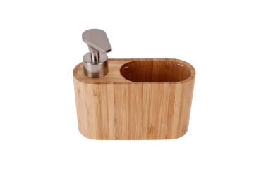 Kitchen soap dispenser bamboo