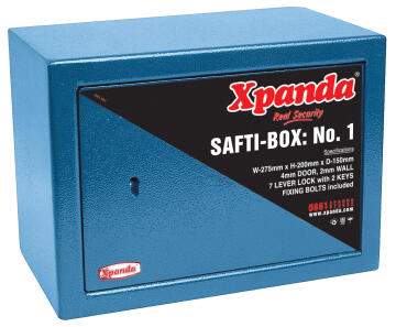 SAFTIBOX NO 1 - BLUE