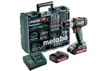 Cordless impact drill METABO SB 18 L Set 18V 2 bat Li 2Ah