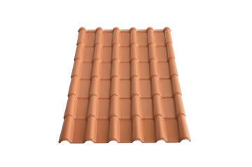 PVC Roof Sheet 2m Terra Cotta LA ROMANA