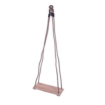 3 SLAT WOODEN SWING