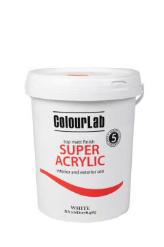 Colourlab super acrylic cloudy grey 20 liters