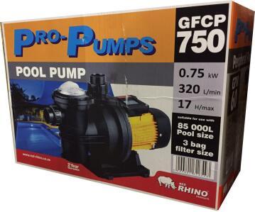 PUMP POOL 0.75KW PRO PUMPS