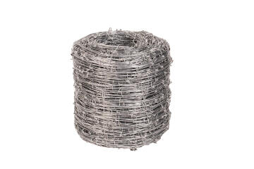 BARBED WIRE DBL STEEL 270M LIGHTLY GALV