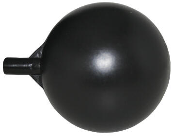 Float ball PARKER 100mm x 8 mm thread black