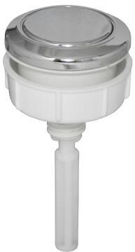 Top flush button PARKER single flush