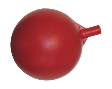 Float ball PARKER 100mm , 6mm thread red