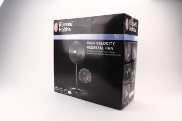 Pedestal fan RUSSELL HOBBS high velocity