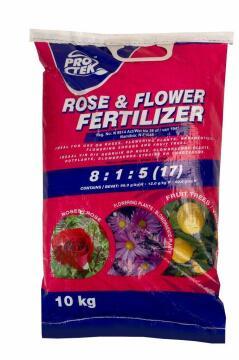 Rose & Flower Fertilizer 17% 10Kg