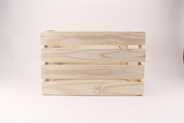 PINE CRATE LARGE