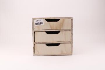 3 Tray Drawer