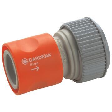 Hose Connector 3/4 Stop