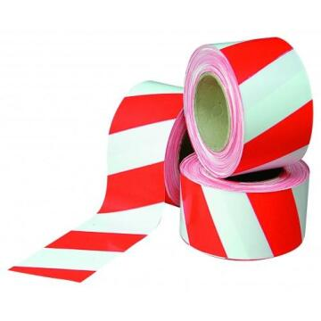 Red and White Barrier Tape / Safety Tape 100m