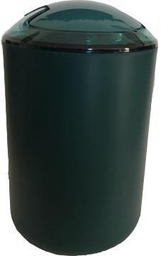 Dustbin abs green