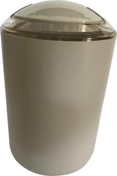 Dustbin abs taupe