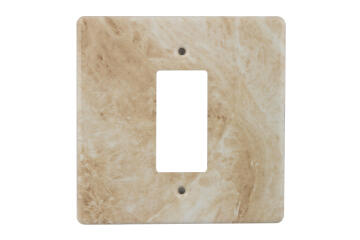 Cover plate 100x100mm for isolator CRABTREE marble