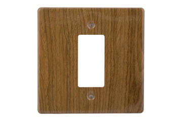 Cover plate 100x100mm for isolator CRABTREE short grain