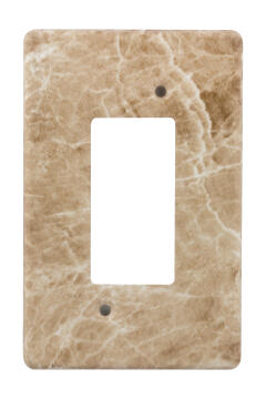 Cover plate 50x100mm for isolator CRABTREE marble