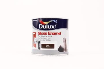 DLX GLOSS ENAMEL BRN 500ML