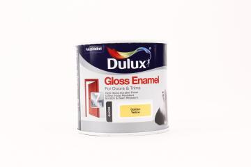 DLX GLOSS ENAMEL GOLDEN YLW 500ML