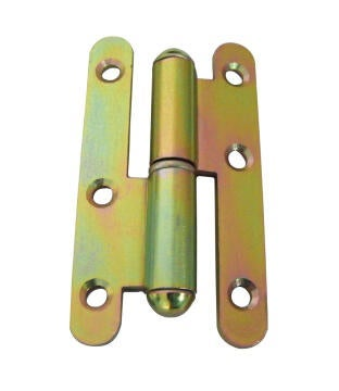 HINGES ROUND HEAD LEFT 80X45MM GX1 VR