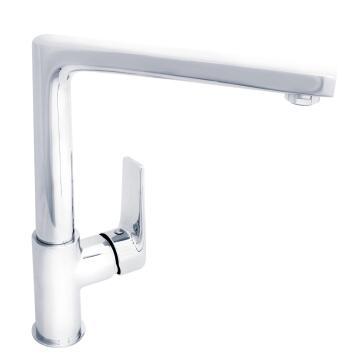 Kitchen tap lever mixer DELINIA Lanta chrome