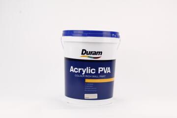 INTERIOR/EXTERIOR PAINT DURAM ACRYLIC PVA MACADAMIA 20L