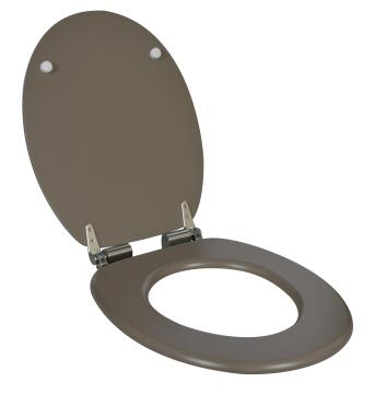 Toilet seat with soft close N°3 Sensea Blanka taupe