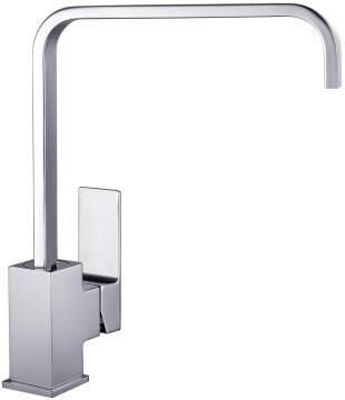 Kitchen tap lever mixer DELINIA Jazzy chrome