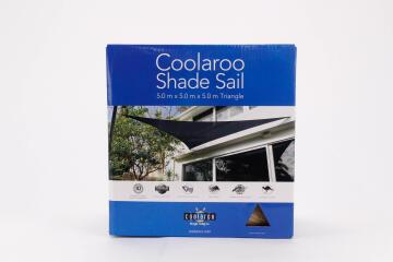 SAIL SHADE TRI. COOLAROO 5X5X5M D/SAND