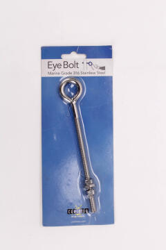 EYE BOLT MARINE GRADE 316 S/S