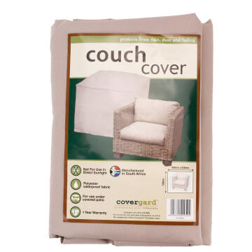 Cover Single Seat Couch Poly Bge