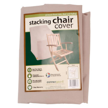 COVER STACKING CHAIR POLY BGE