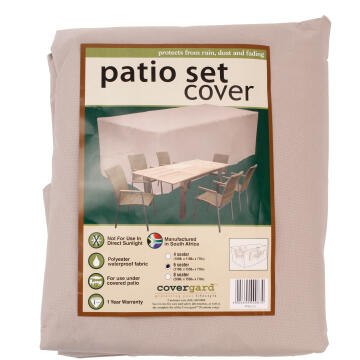 COVER PATIO 6 SEATER POLY BGE