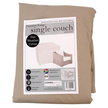 COVER PREMIUM SINGLE COUCH RIPSTOP