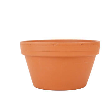 POT TERRACOTTA BOWL WITH HOLE 12CM